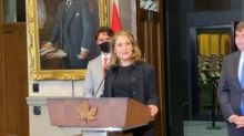 Chrystia Freeland steps into big new role