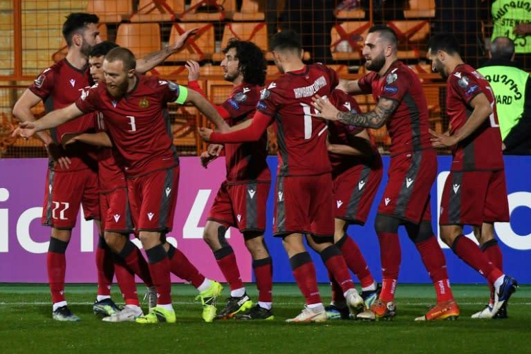 World Cup success lifts Armenians after last year's bitter war