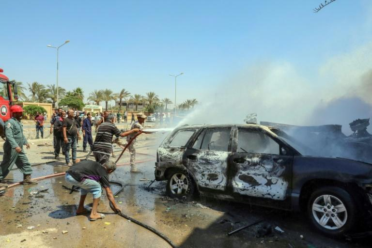 Auto bomb explodes in Libya's Benghazi, killing 3 United Nations staff: Medics