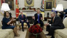 In heated clash with Pelosi and Schumer, Trump says he'll shut down government 'if we don't get what we want' for wall