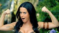 "Katy Perry Jungle Queen in ""Roar"" Music Video"
