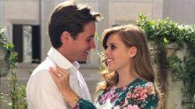 Princess Beatrice stuns in $1,130 floral dress in engagement photos: Shop the look for less