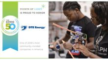 DTE Energy ranked as Michigan's top corporate citizen by Points of Light