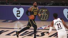 Lakers don 'Black Mamba' jerseys, grab dominant win on Kobe Bryant Day