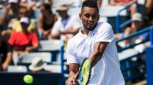 Kyrgios tantrum doesn't prevent a win