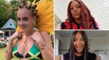 'Leave her alone': Celebs defend Adele after bikini photo backlash