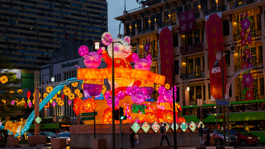 Extraordinary preparations for 'The Year of the Rat' in Singapore: Photos