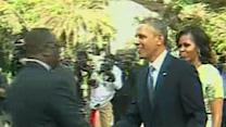 Senegal's President Welcomes President Obama