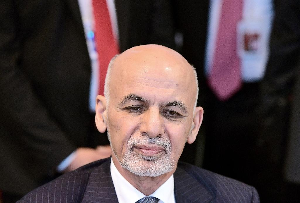 "Afghan President Ashraf Ghani said he was ""deeply saddened"" by the Kunduz killings, adding that insurgents were using civilians as human shields (AFP Photo/Emmanuel Dunand)"