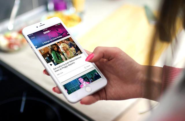BBC+ puts all the BBC's best content in one personalised app