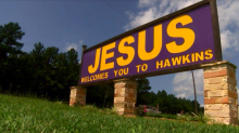 Texas church furious after city removes its 'Jesus welcomes you' sign: 'We're treating it like a hate crime'