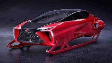 LEXUS為聖誕老人推出全新雪橇概念車Lexus HX Sleigh Concept