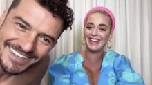 Katy Perry's livestream interrupted by topless Orlando Bloom