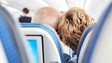 Husband's touching gesture on a plane sparks Twitter debate