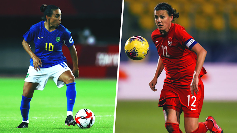 Canada face Brazil rematch for shot at Olympic three-peat