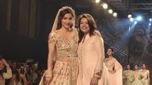 Soha Ali Khan's Floral Lehenga At BTFW 2018 Is Inspired By The Intricacies Of Nature