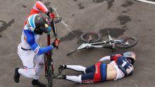 U.S. BMX rider suffered extensive injuries