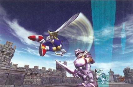 Sonic and the Black Knight scann'd and quartered