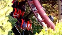 Magic Mountain Coaster Remains Closed After Derailment