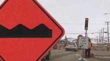 Red light! Iqaluit's first traffic lights cause social media stir