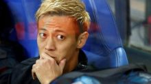 Ousted Honda relishing fight for place in Japan