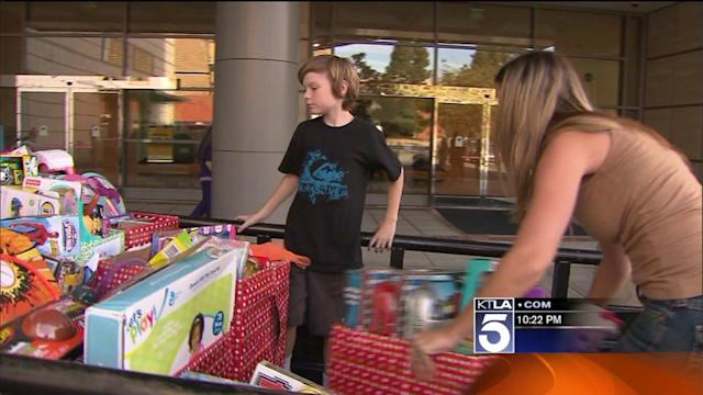 Boy With Rare Disorder Organizes Toy Drive for Sick Kids