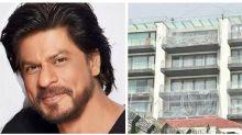 Photos: Shah Rukh Khan's Mumbai Residence, Mannat, Covered With Plastic