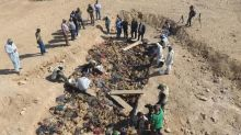 Iraq exhumes bodies thought to be Kurds killed by Saddam