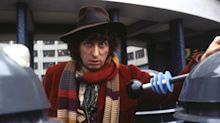 Tom Baker says 'no fun' Rowan Atkinson feared being upstaged while making 'Blackadder'