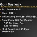 Wilkinsburg Gun Buyback Event