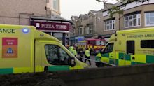 Two dead after fire at working men's club in Morecambe