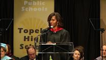 First Lady addresses Brown v. Board of Education anniversary