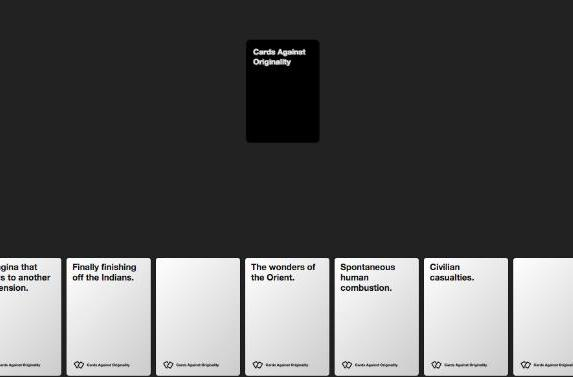 'Cards Against Humanity' brings the raunch to the web in unofficial app (update)