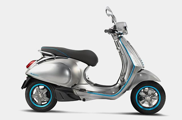 Vespa is making an electric version of its iconic scooter