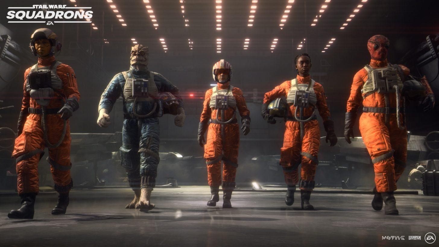 EA shows off Star Wars: Squadrons gameplay