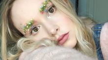 Nouvelle tendance bizarre printanière : les « sourcils jardin »