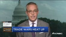 Trade war reaching a fever pitch & stocks are getting sla...