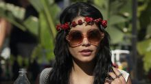 Vanessa Hudgens drops $200 on Coachella manicure