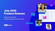 UserTesting Announces New Capabilities to Help Companies Take Insights to the Next Level in Its July 2020 Product Release