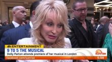 Dolly Parton attends premiere of her musical