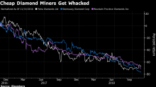 De Beers Price Cuts Show It's Hard Times for Ugliest Diamonds