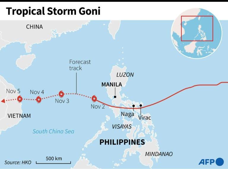 Tropical Storm Goni