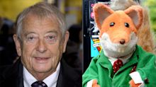 Basil Brush pays tribute to Derek Fowlds at star's funeral