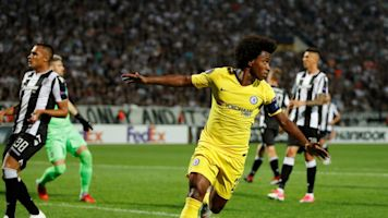 Willian strike enough as wasteful Chelsea struggle to see off PAOK