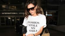 Three ways to wear an ordinary white T-shirt, according to Victoria Beckham