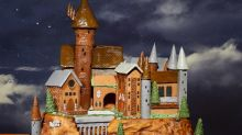 Brace Yourselves, Muggles—This 60-Pound Gingerbread Hogwarts Is Seriously Impressive