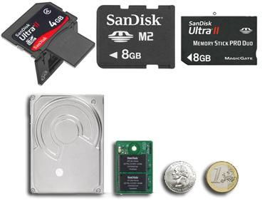 SanDisk announces tiny SSD, 8GB M2, and bigger Ultra IIs