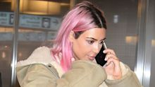 How To Get Pastel Pink Hair Like Kim Kardashian's New Look