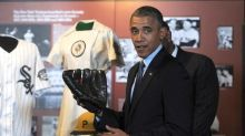 Check Out These Pics: Obama Hits the Baseball Hall of Fame