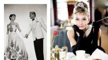 「他」的靈感繆思女神-穿上 Givenchy 的柯德莉夏萍是最美麗動人